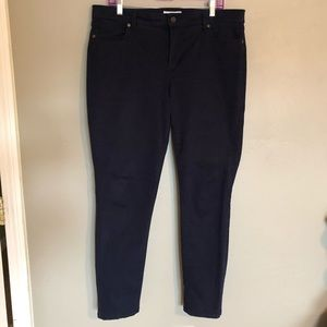 SONOMA super soft sateen skinny jean pants